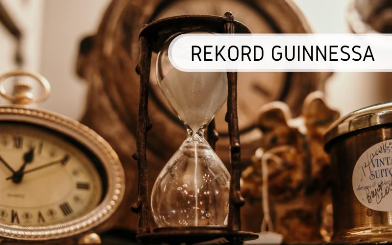 Rekord Guinnessa - największa kolekcja zegarów