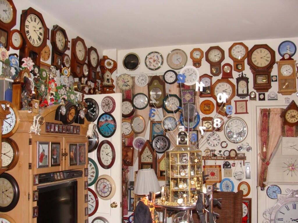 największa kolekcja zegarów