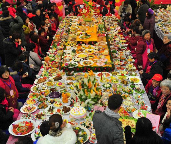 Chińskie dania - Rekord Guinnessa