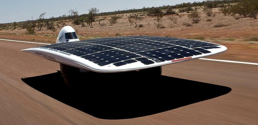 pojazd solarny - australia