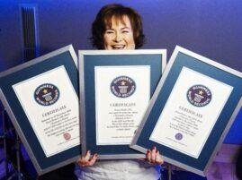 Susan Boyle - Certyfikaty Guinnessa