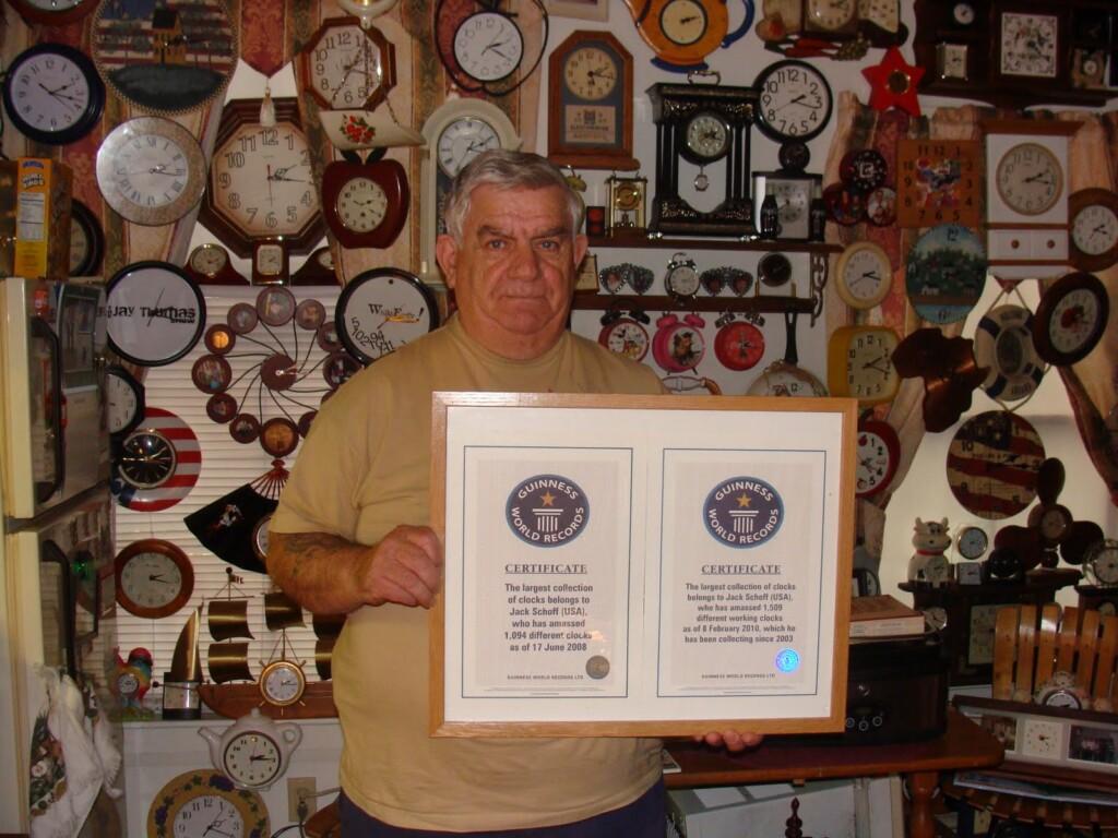 Zegary - rekord Guinnessa