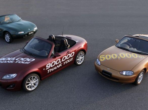 Mazda MX-5 - rekord Guinnessa
