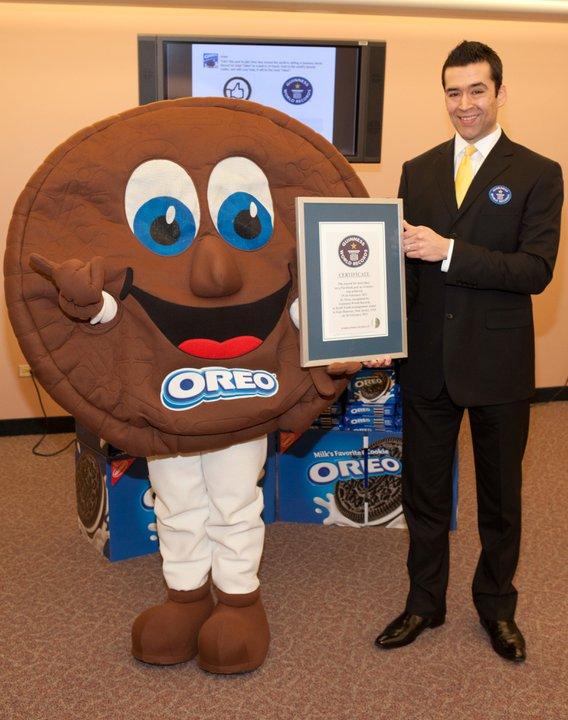 Oreo - Rekord Guinnessa