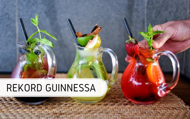 najwięcej drinków w 1 godzinę - rekord Guinnessa
