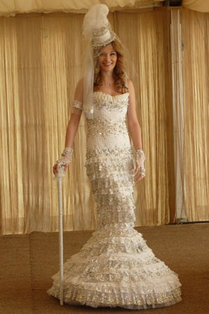 Najwięcej kryształów nasukni ślubnej