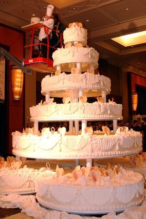 Największy tort weselny