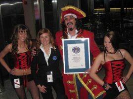 Rekord Guinnessa w staniu na jednej nodze