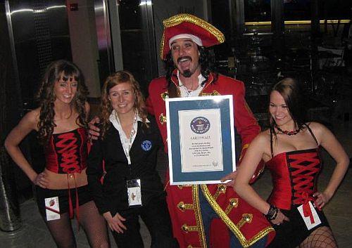 Rekord Guinnessa wstaniu najednej nodze