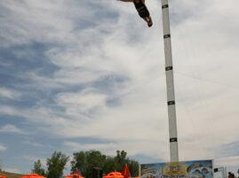 Skok do basenu - Rekord Guinessa