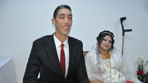 ślub najwyższego człowieka świata