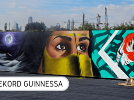 Rekord Guinnessa najdłuższe graffiti
