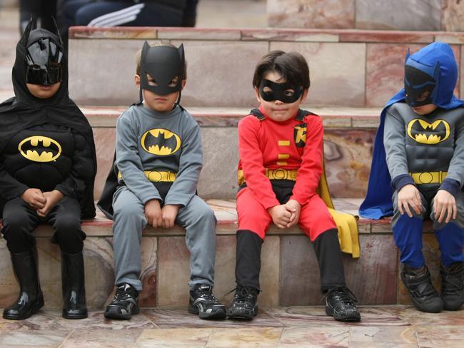 Najwięcej ludzi przebranych za superbohaterów