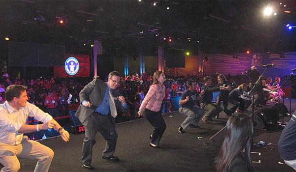 Najwięcej ludzi tańczących cha-chę