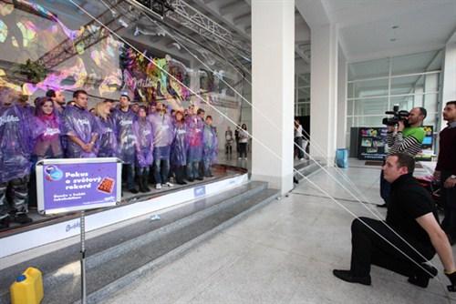Największa bańka mydlana - rekord Guinessa