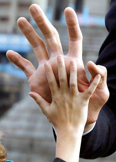 Największa ręka świata