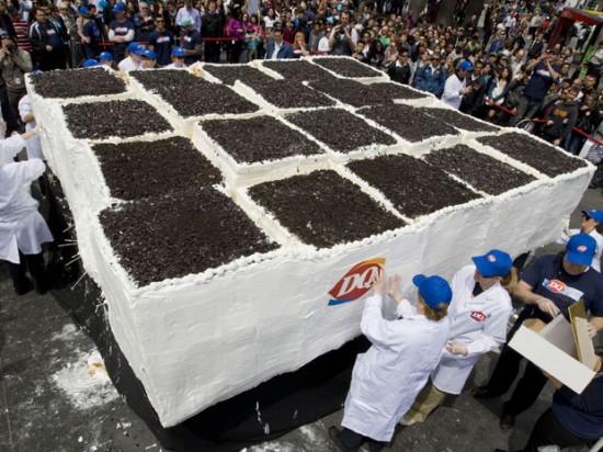 Największy tort lodowy świata