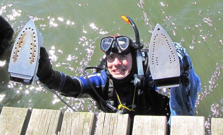 Prasowanie podwodą - rekord Guinessa