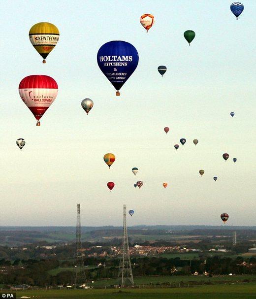 Balony nad Kanałem La Manche