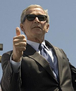 George Bush bije rekord Guinessa