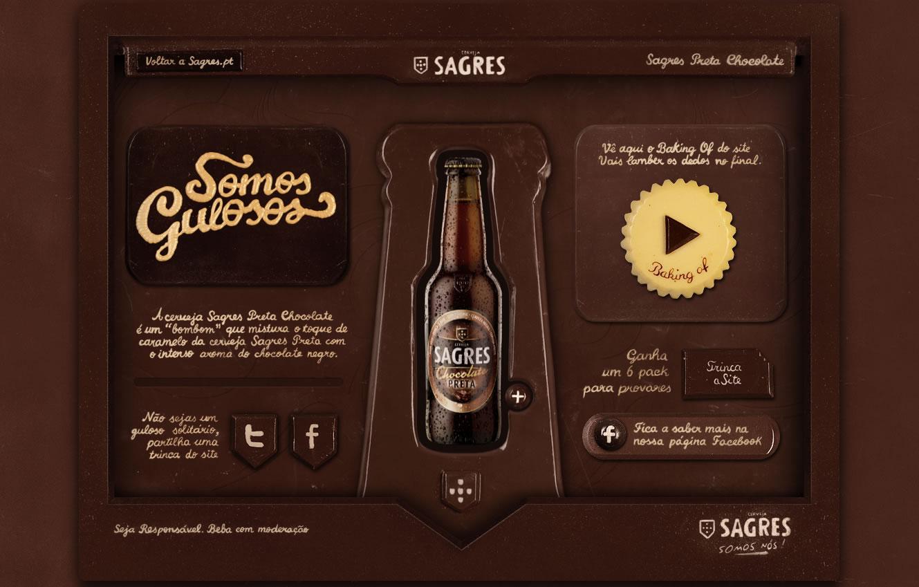 Pierwsza strona internetowa z czekolady