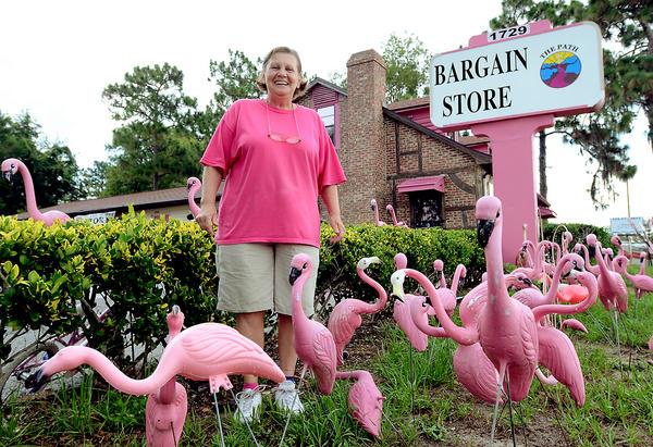 Sherry Knight - kolekcja flamingow