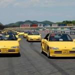Największa parada samochodów marki Honda