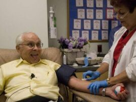 Oddawanie krwi – największy dawca krwi