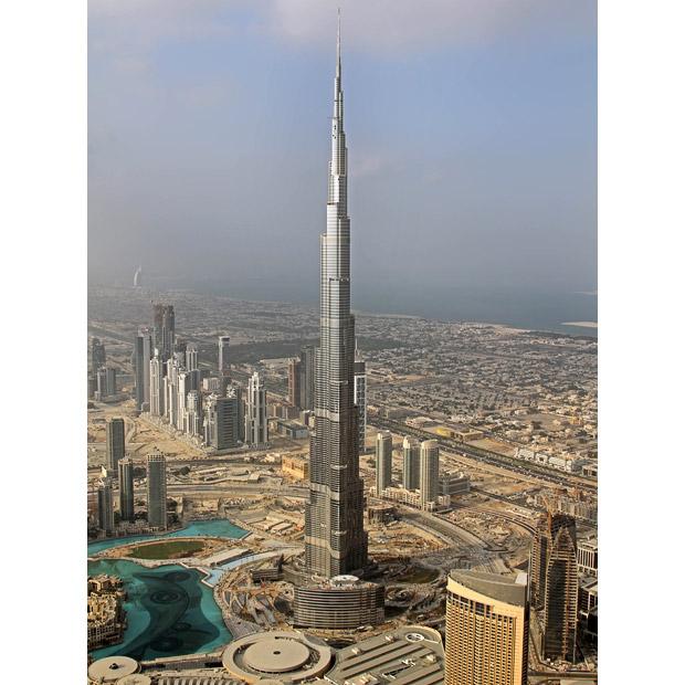 Burdż Chalifa - najwyższa budowla świata