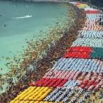 Rekord Guinessa na najwięcej parasoli słonecznych