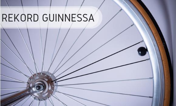 Rekord Guinnessa - rower