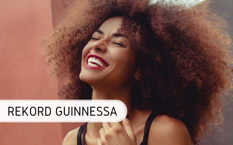 Rekord Guinnessa -największe afro