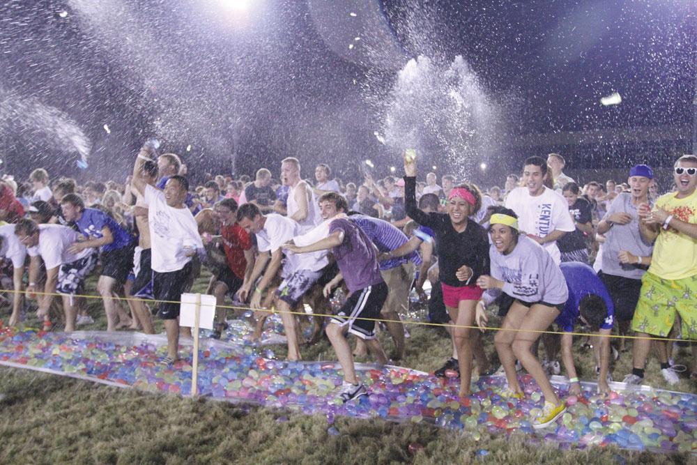 Największa bitwa na balony z wodą