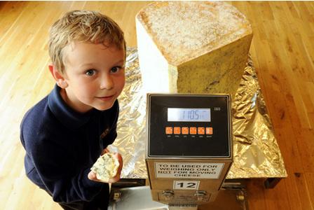 Największa kostka sera
