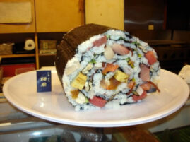 Największe sushi – rekord Guinessa