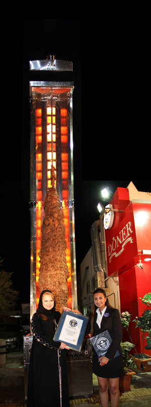 Największy kebab