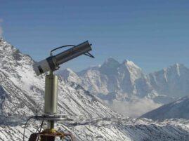 Kamera internetowa na Mount Everest