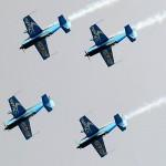 Najwięcej wykonanych pętli przez formację samolotów - rekord Guinessa