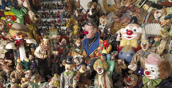 Największa kolekcja klaunów