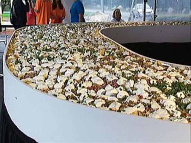Największa porcja nachos