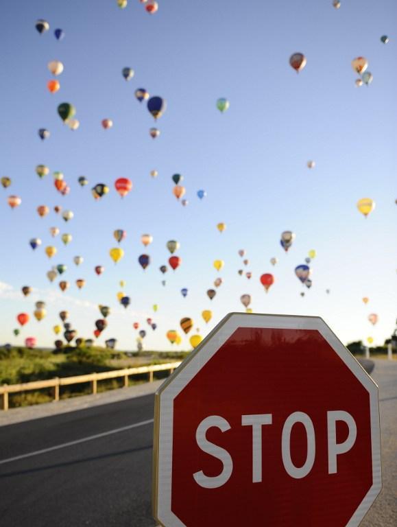 Puszczanie balonów - rekord Guinessa