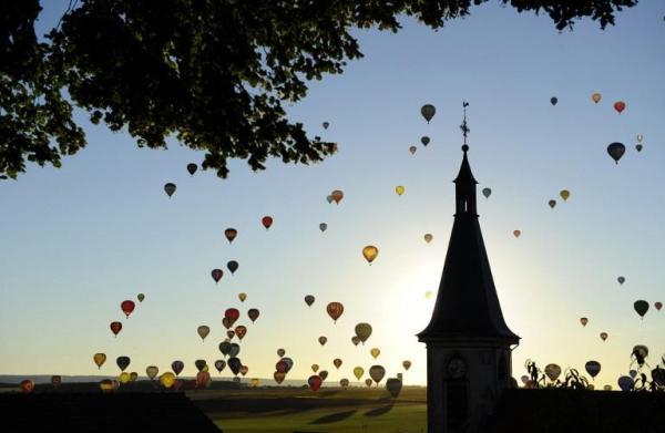 Puszczanie balonów - rekord