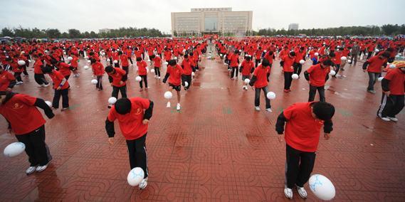 Rekord Guinessa wpodbijaniu piłki