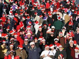 Najwięcej ludzi w czapkach mikołaja – rekord Guinessa