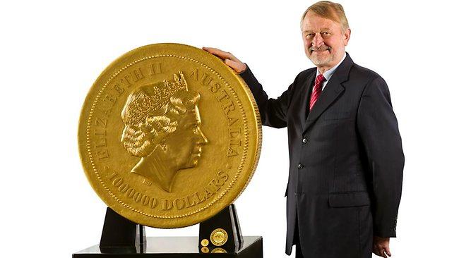 Największa moneta świata - awers