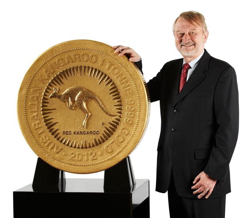 Największa moneta świata