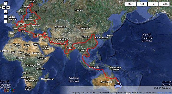 Najdłuższa podróż wtaksówce - rekord Guinessa