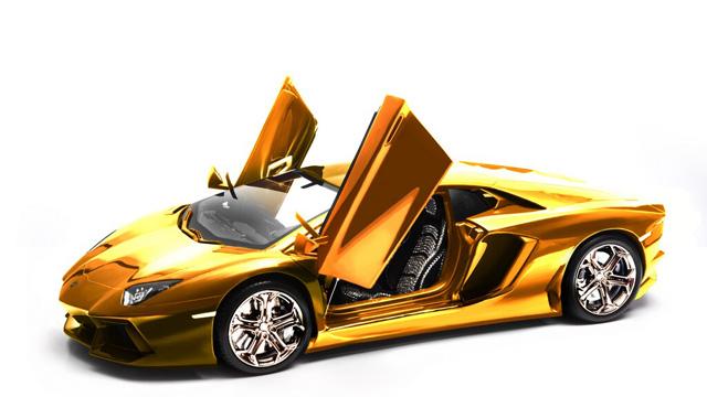 Najdroższy model samochodu - Lamborghini Aventador