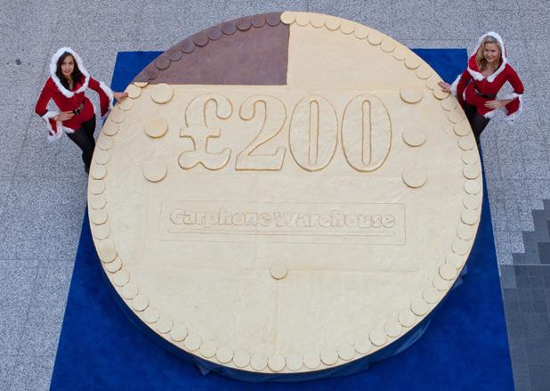 Największa czekoladowa moneta świata