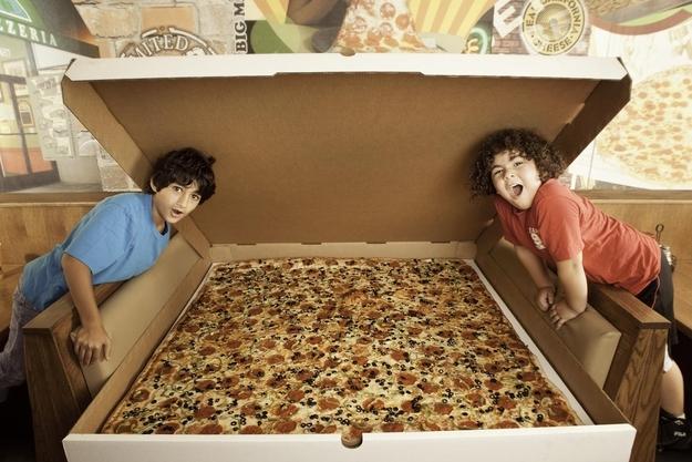Największa pizza dostępna wsprzedaży